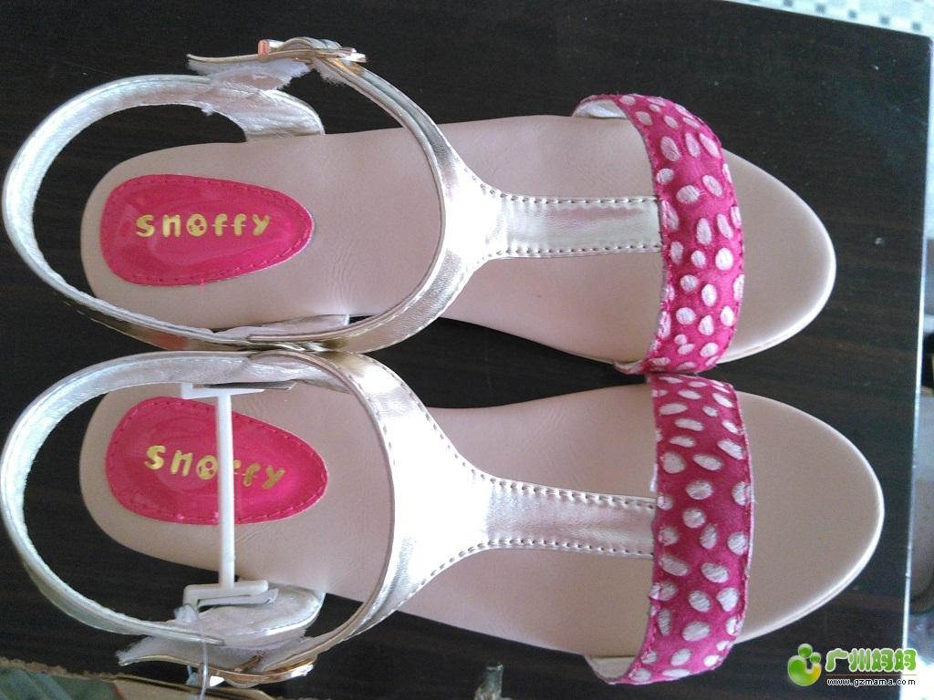 转全新斯纳菲女生(女孩子)儿童35码~~凉鞋相思逆图片