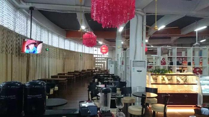 广东工业大学盈利中餐厅转让图片